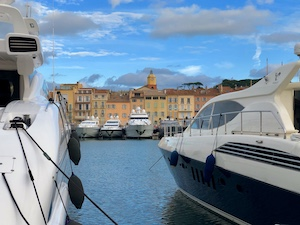 South of France Photos - Yachts in Saint Tropez